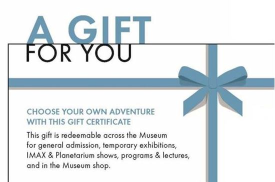 denver museum of nature science online ticketing store gift card