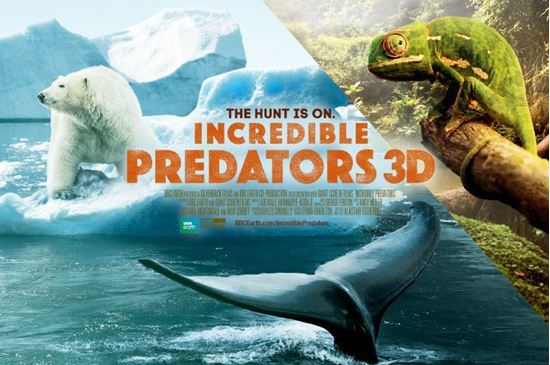 Picture of Incredible Predators 3D (Requires Museum Admission)