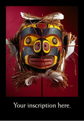 Picture of Mask, Kwakiutl-inspired