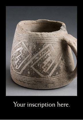 Picture of Black on White Ceramic Mug