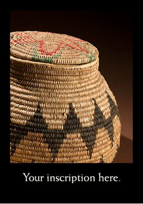 Picture of Havasupai Basket with Lid