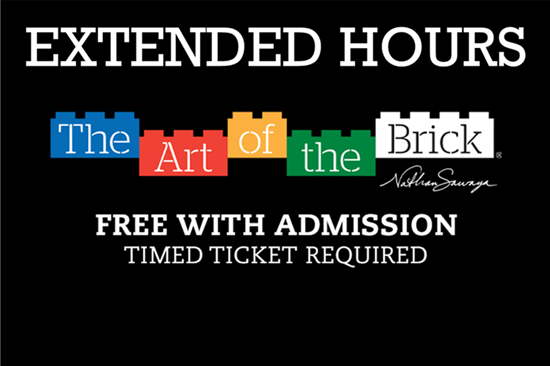 Picture of Extended Hours Museum + The Art of the Brick (includes both Museum and The Art of the Brick)