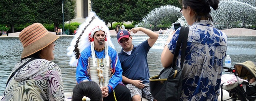 """Picture of Indigenous Film: """"The Last American Indian on Earth"""""""