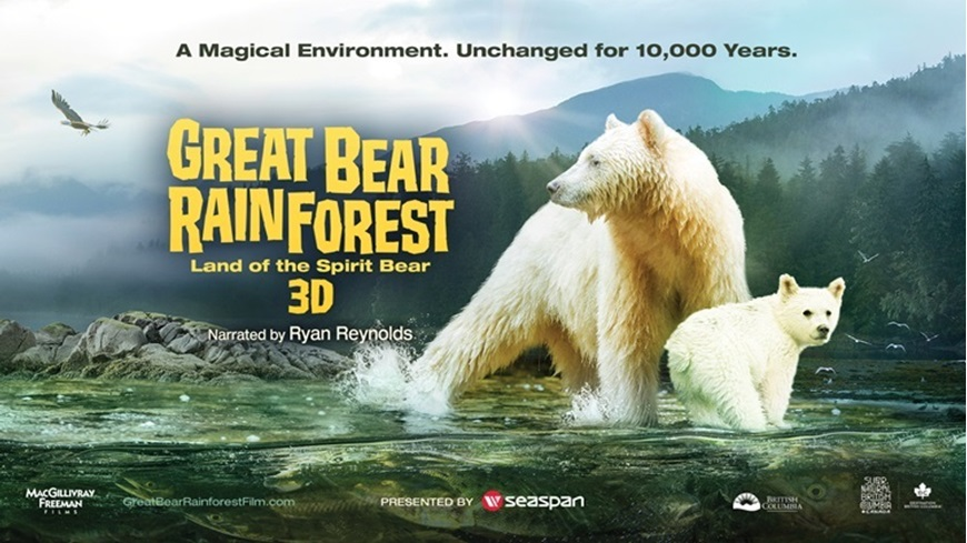 Picture of Great Bear Rainforest 3D (Requires Museum Admission)