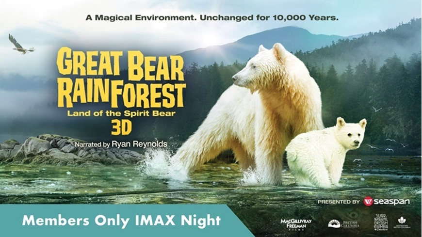 Picture of Members-Only IMAX Night: Great Bear Rainforest