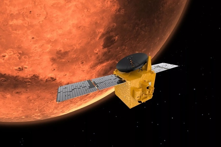 Picture of Al Amal (Hope) Mission to Mars